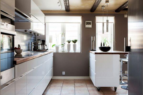 skandinav mutfak tasarımları